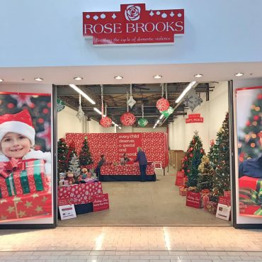 holiday store entrance